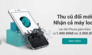 Đổi iPhone cũ lấy iPhone mới tại FPT Shop Bình Định
