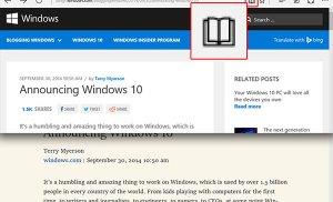 Chế độ đọc sách trên trình duyệt web