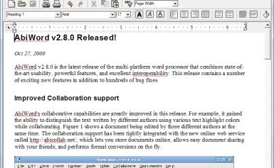 Hai công cụ soạn thảo văn bản nhẹ cho người dùng