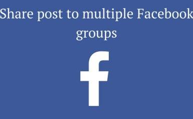 Facebook cải tiến tính năng đăng bài trong các nhóm (group)