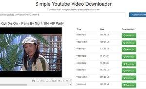 DownloadYoutubeVideo.Info – Hỗ trợ lấy link và tải video từ Youtube