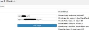 HMAK Facebook Photos – Biến Facebook thành máy chủ lưu trữ hình ảnh cho trang web của bạn