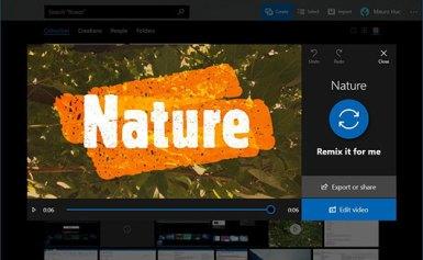 Tạo tập tin video đơn giản trên Windows 10