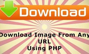 Tải và lưu hình ảnh từ một URL về máy chủ bằng PHP