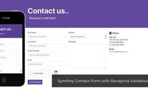 Code form liên hệ bằng Symfony