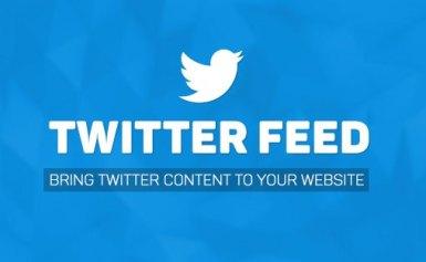 Cách chèn Twitter Feed vào trang web của bạn