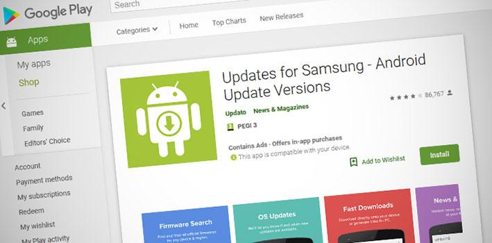 Phát hiện ứng dụng cập nhật firmware Samsung giả với 10 triệu lượt cài đặt