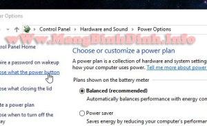 Kích hoạt chế độ khởi động nhanh trên Windows 10