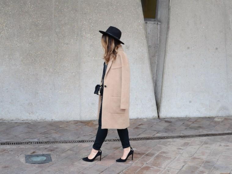Look Noir et Camel - MangeBrilleAime