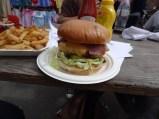 Lucky Chip Burger - Netil Market, London UK