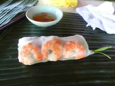 Rice Paper Roll, Hoi An, Vietnam