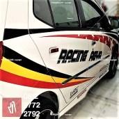 CUTTING STICKER mobil bandung agya | 081227722792 | Racing Keren