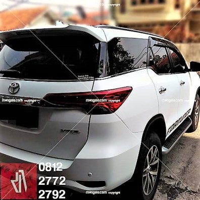 full wrapping stiker mobil bandung fortuner