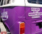 pesgobar ungu doff kualitas mangele sticker