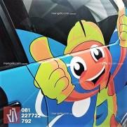 car branding stiker cutting bandung