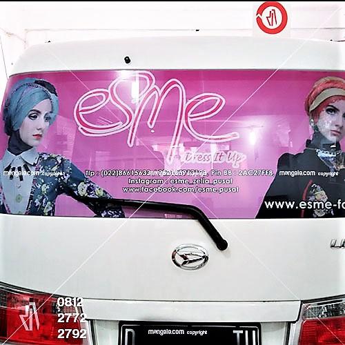 jasa stiker branding mobil di bandung