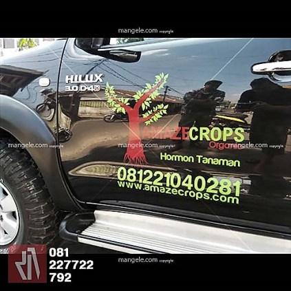 branding stiker mobil hilux bandung