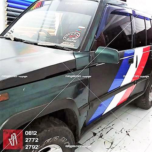 stiker mobil terlaris di bandung | cutting sticker mangele | booking segera di 081227722792
