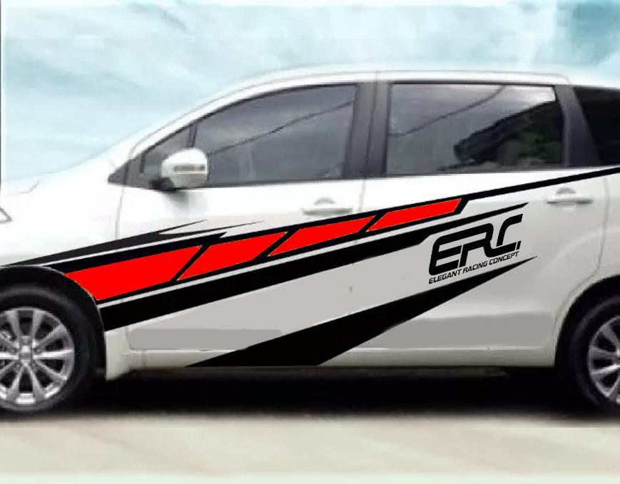 tempat cutting stiker mobil keren bandung   desain tribal by ERC mangele