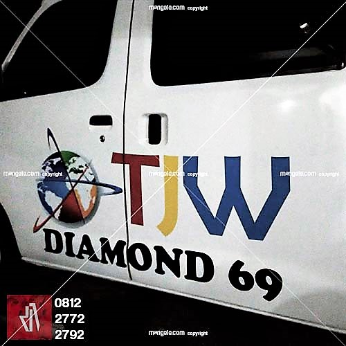 jasa stiker mobil granmax bandung | call mangele 081227722792 | TJW TV