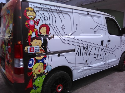 amylee branding mobil di bandung   mangele stiker   081227722792