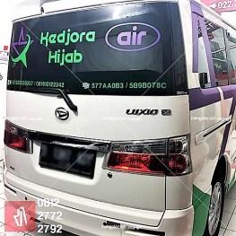branding stiker mobil luxio di bandung | mangele sticker 081227722792