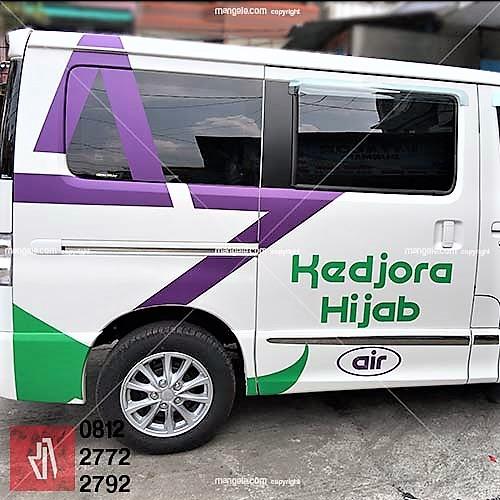 branding stiker mobil | luxio di bandung | mangele sticker 081227722792 | kedjora hijab