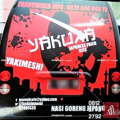 mangele stiker branding mobil terbaik di bandung