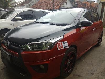 stiker carbon kap mesin | Bandung | mangele 081227722792