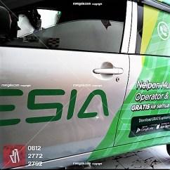 tempat branding stiker mobil usaha bandung | mangele pro 081227722792