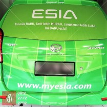 tempat branding stiker mobil usaha bandung   mangele pro 081227722792