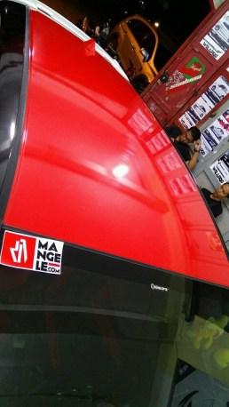 stiker-mobil-bandung-atap-kap-mesin-red-gloss-mangele