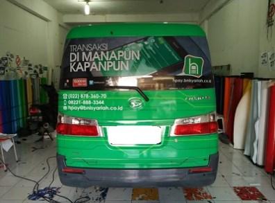stiker-mobil-bandung-branding-hasanah-payment-mangele