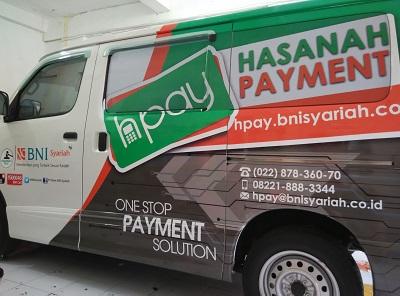 stiker mobil branding | hasanah payment luxio bandung | mangele stiker 081227722792