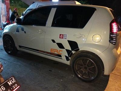 cutting stiker mobil | sirion rally striping bandung | mangele stiker 081227722792
