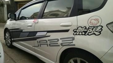 stiker cutting mobil | avanza racing flag bandung | mangele stiker 081227722792