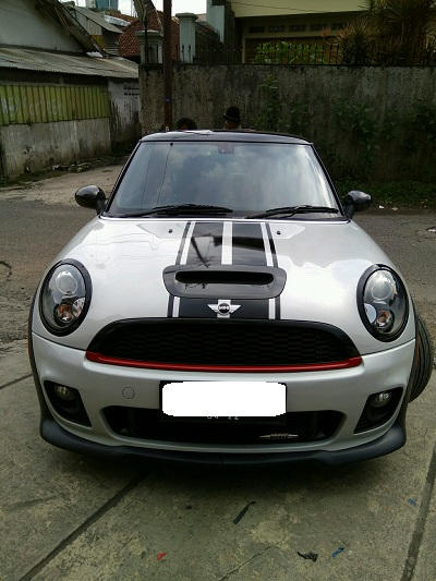 cutting stiker mobil | mini cooper striping | mangele stiker 081227722792