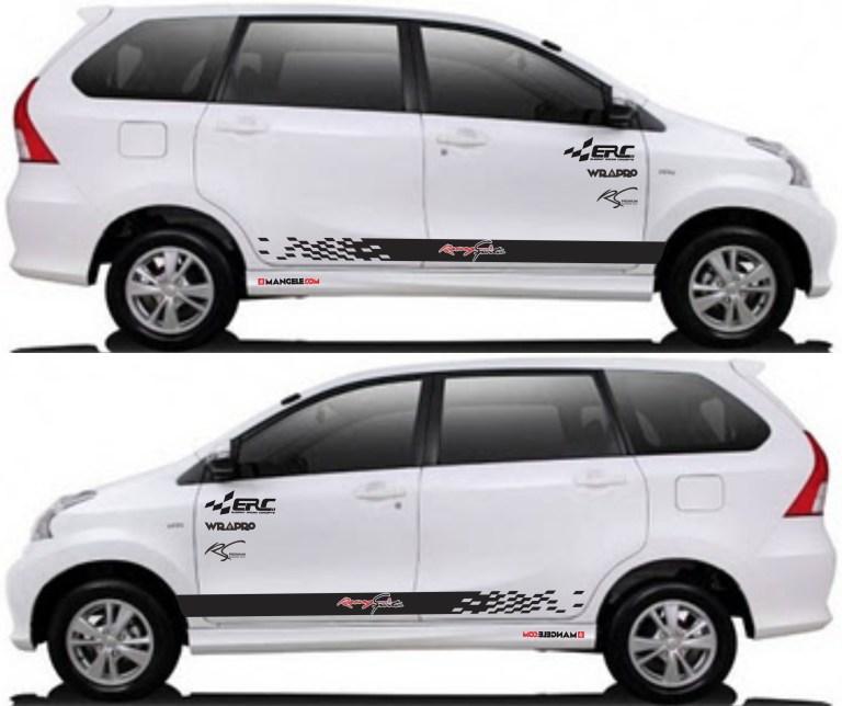 stiker cutting mobil | Cutting custom ERC avanza xenia | mangele stiker 081227722792