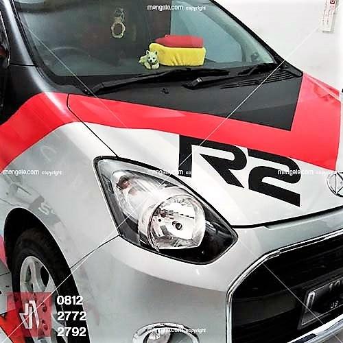 cutting stiker mobil | agya R2 di bandung | mangele stiker 081227722792