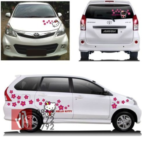 cutting-stiker-mobil-avanza-hello-kitty-mangele