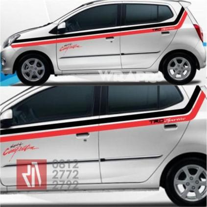 sticker_mobil_cutting_striping_atas_agya_mangele