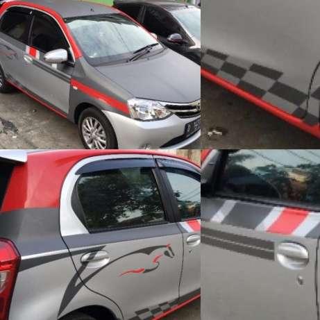 cutting stiker mobil | cutting mobil custom di Bandung | mangele stiker 081227722792