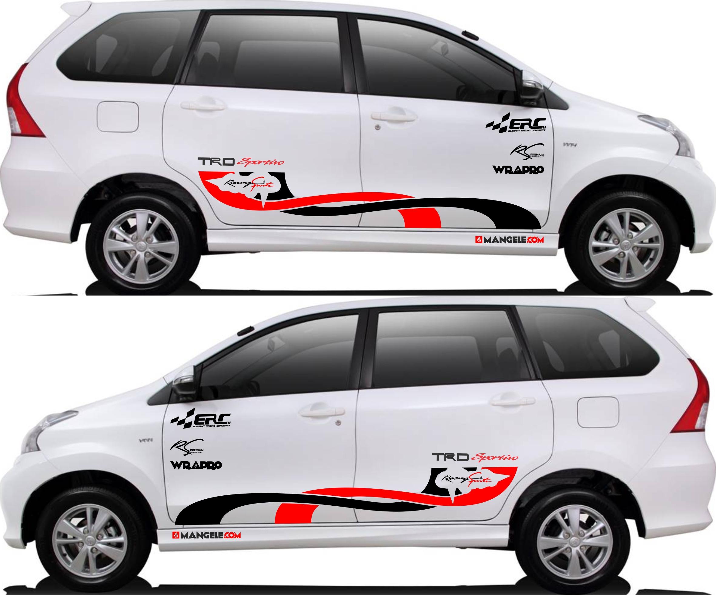 stiker cutting mobil   Cutting Avanza Xenia custom   mangele stiker 081227722792