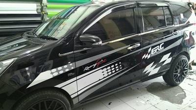 cutting stiker mobil | calya erc konsep Bandung | mangele stiker 081227722792