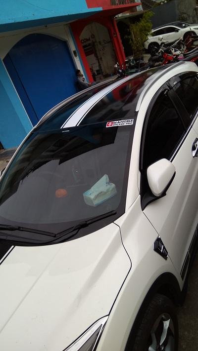 wrapping stiker mobil | atap stiker variasi HRV bandung | mangele stiker 081227722792