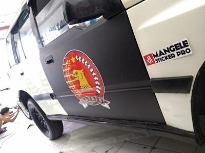 stiker mobil branding | Escudo Branding di bandung | mangele stiker 081227722792