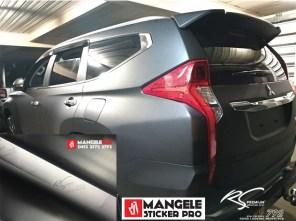 M101 Black Stone chrome metallic matte RS Premium wrapping