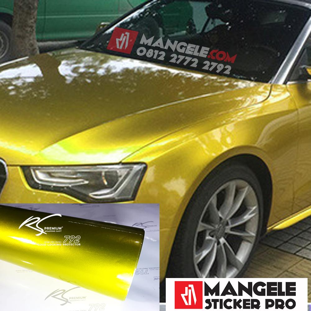 GCG-01 yellow gold chrome metallic gloss rs premium wrapping