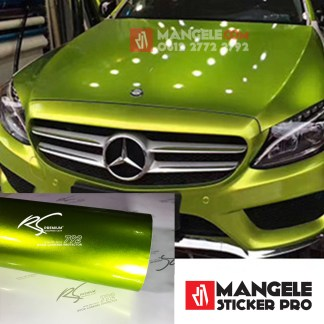 GCG-02 lime green chrome metallic gloss rs premium