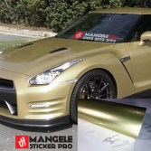 GCG-09 soft gold chrome metallic gloss rs premium